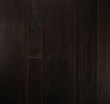 Moda Hardwood Floors This Sample Features Walnut Hardwood In Espresso
